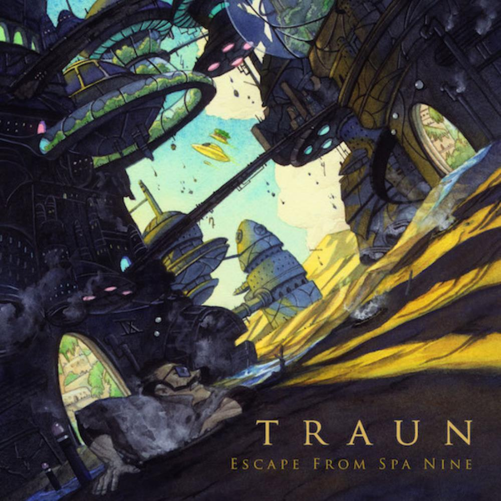 Escape From Spa 9 by TRAUN album cover