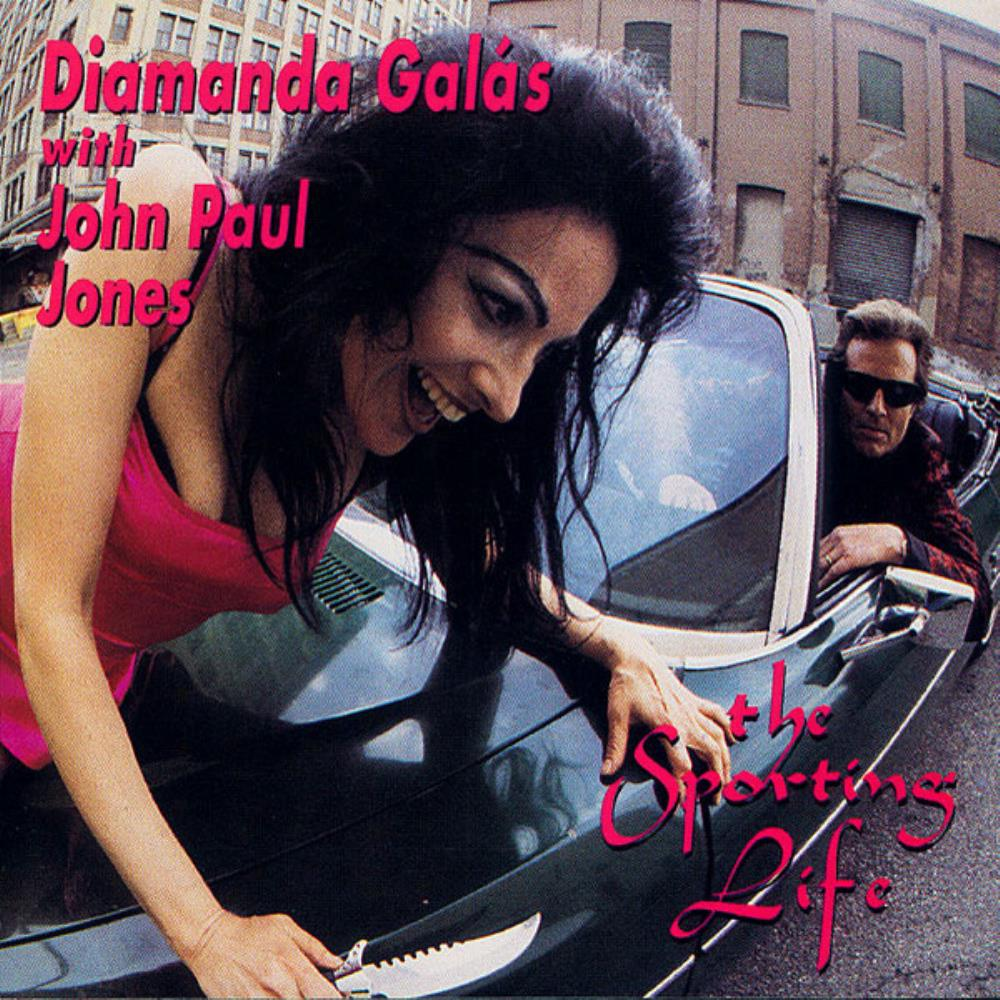 Diamanda Galás with John Paul Jones: The Sporting Life by GALÁS, DIAMANDA album cover