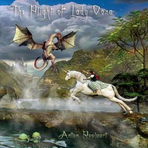 Anton Roolaart - The Plight of Lady Oona CD (album) cover