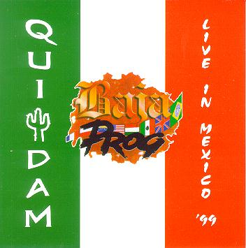 Quidam - Live in Mexico '99 CD (album) cover