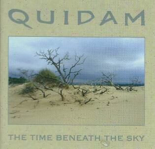 Quidam - The Time Beneath The Sky CD (album) cover