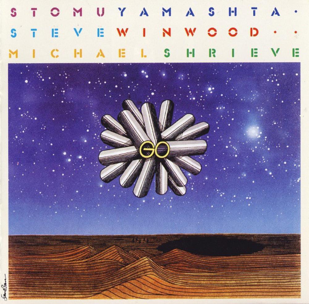 Stomu Yamash'ta, Steve Winwood & Michael Shrieve: Go by YAMASH'TA, STOMU album cover
