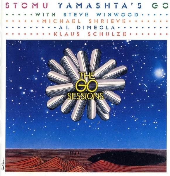 Stomu Yamash'ta The Complete Go Sessions album cover