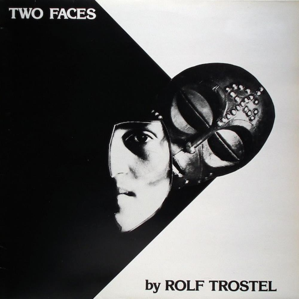 Rolf Trostel - Two Faces CD (album) cover