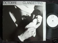 Clandestins by OCTOBRE album cover