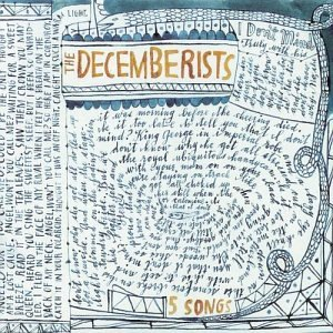 The Decemberists - 5 Songs CD (album) cover