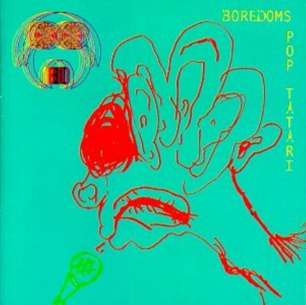 Pop Tatari by BOREDOMS album cover