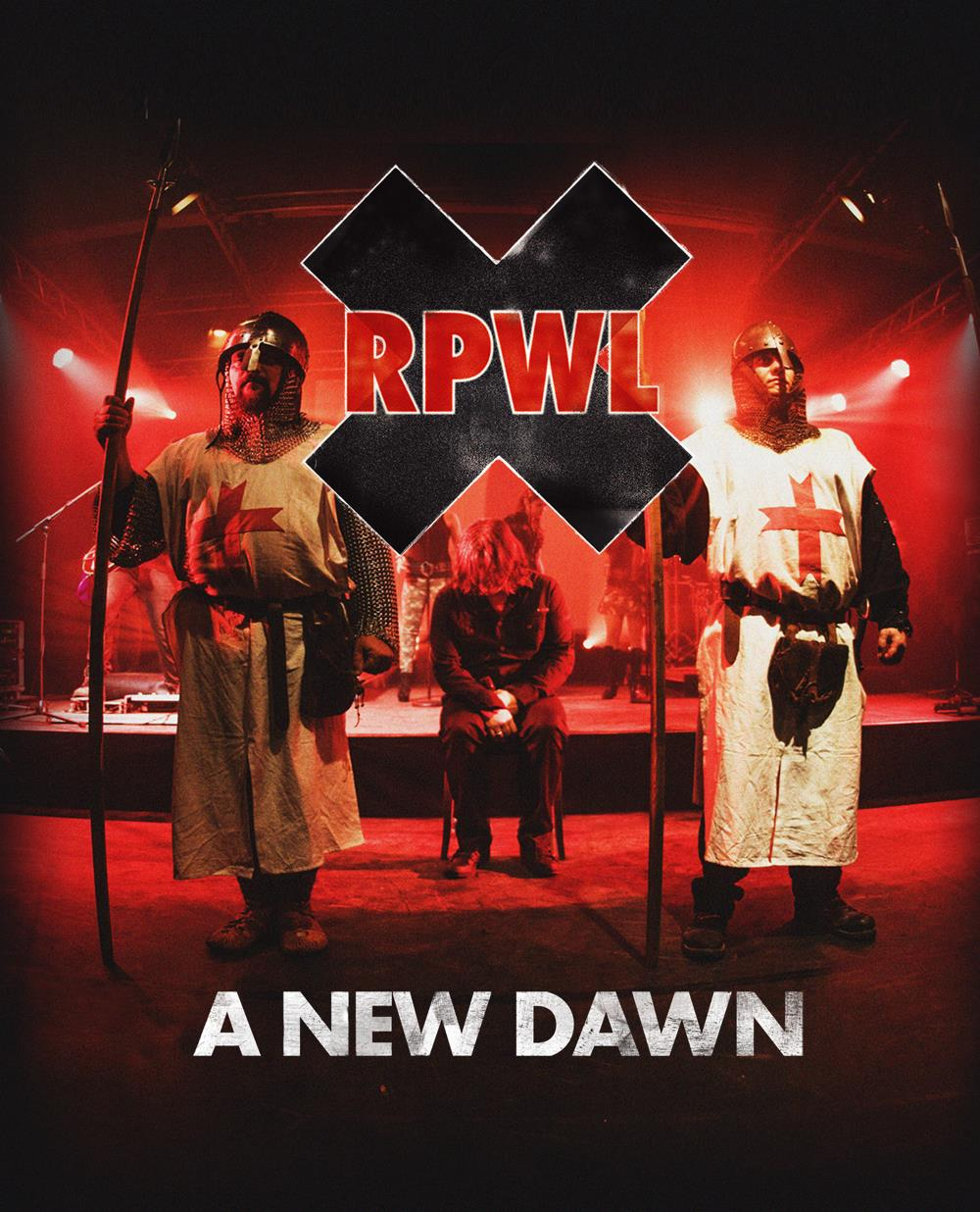 A New Dawn by RPWL album cover