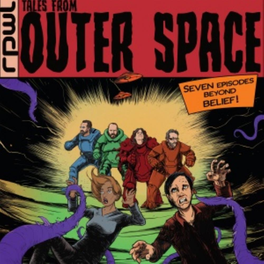 RPWL - Tales From Outer Space CD (album) cover