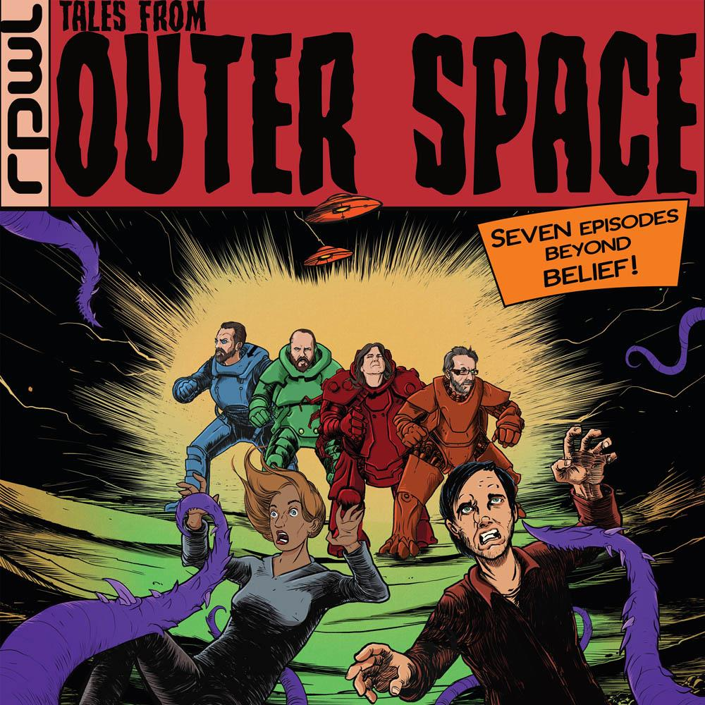 Tales From Outer Space by RPWL album cover
