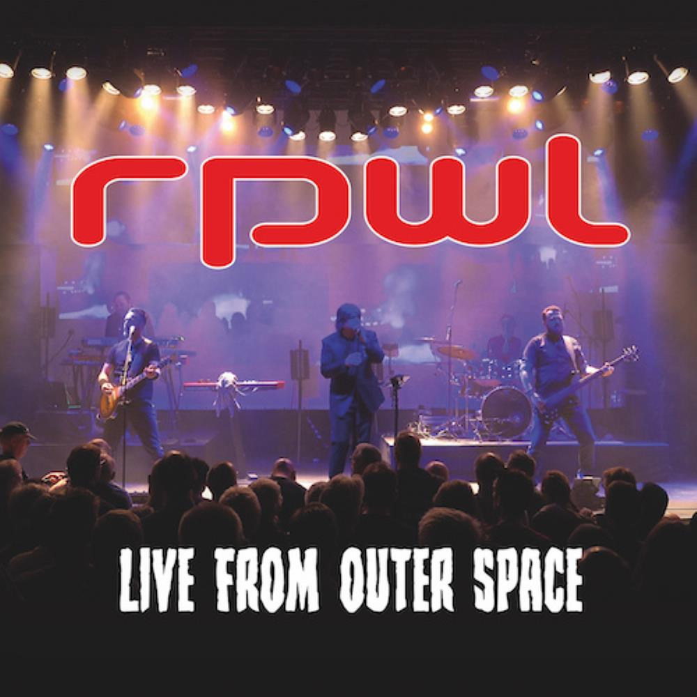 Live from Outer Space by RPWL album cover
