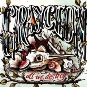 Grayceon - All We Destroy CD (album) cover