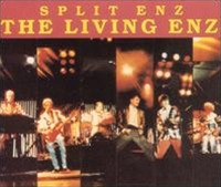 Split Enz The Living Enz album cover