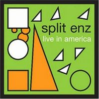 Split Enz Live in America album cover