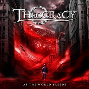 As The World Bleeds by THEOCRACY album cover