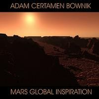 Adam Certamen Bownik Mars Global Inspiration album cover