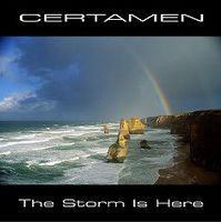 Adam Certamen Bownik The Storm Is Here album cover