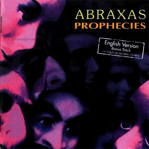 Abraxas - Prophecies CD (album) cover