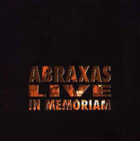 Live In Memoriam by ABRAXAS album cover