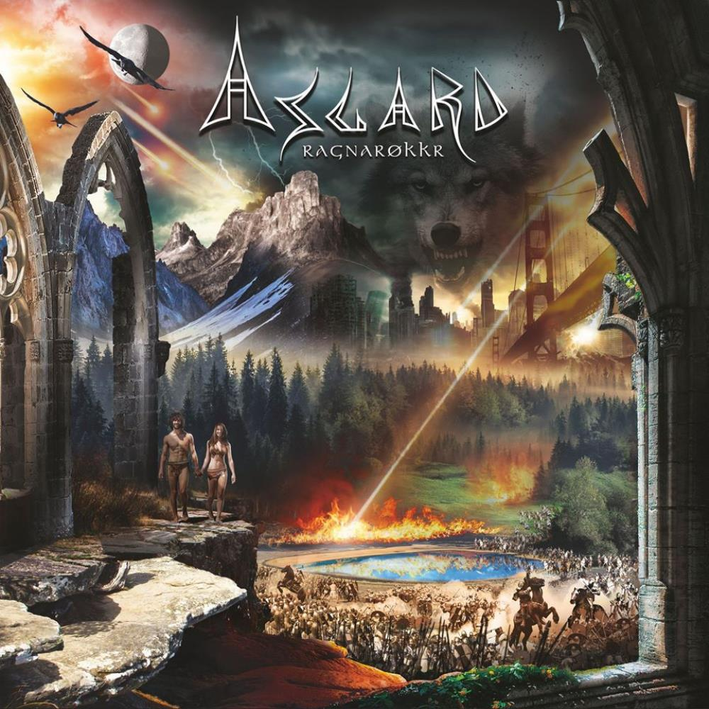 Ragnarokkr by ASGARD album cover