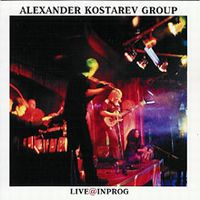 Kostarev Group - Live@InProg 2003 CD (album) cover
