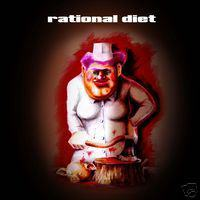 Rational Diet - Rational Diet CD (album) cover