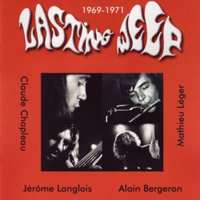 Lasting Weep - LW 1969 - 1971 CD (album) cover