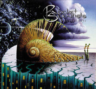 Rocket Scientists - Oblivion Days CD (album) cover