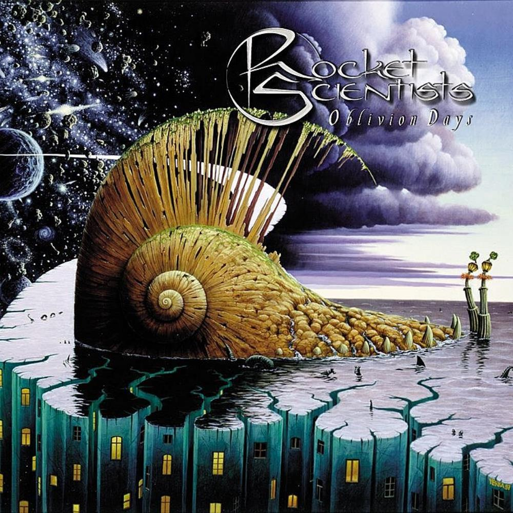 Oblivion Days by ROCKET SCIENTISTS album cover