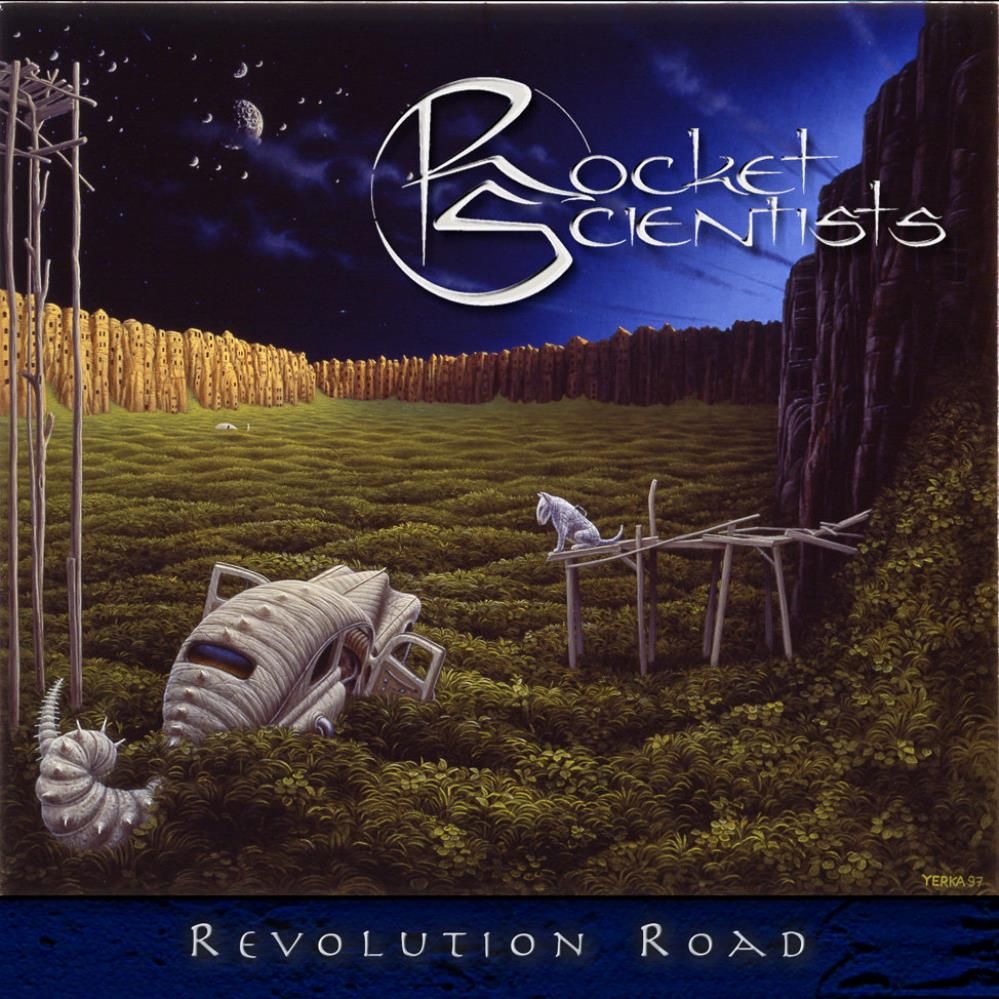 Revolution Road by ROCKET SCIENTISTS album cover