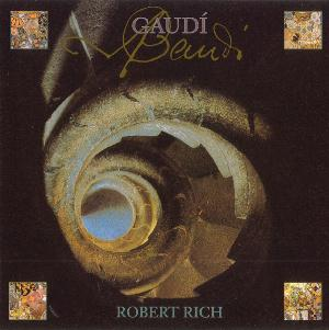 Robert Rich - Gaudi CD (album) cover