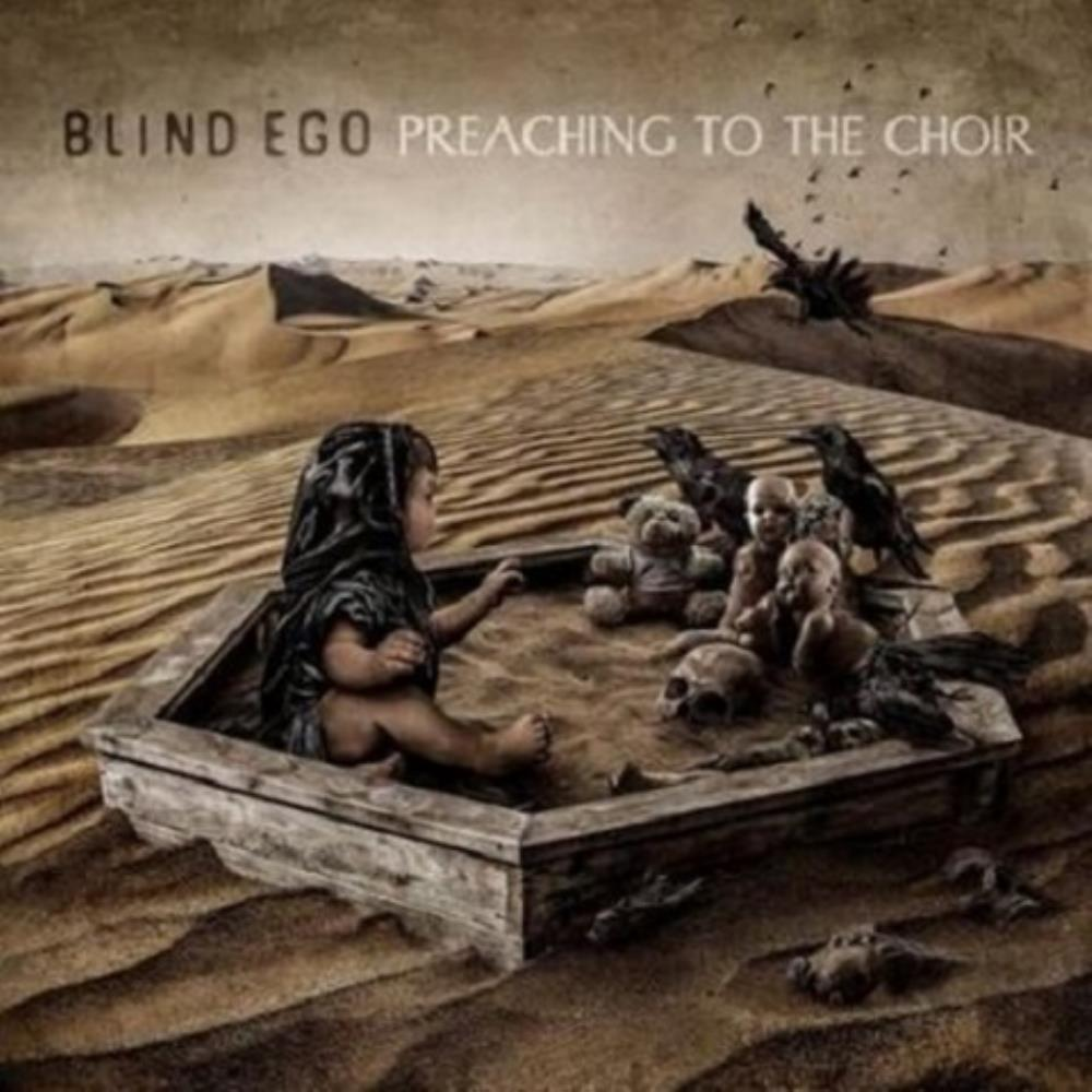 Preaching To The Choir by BLIND EGO album cover