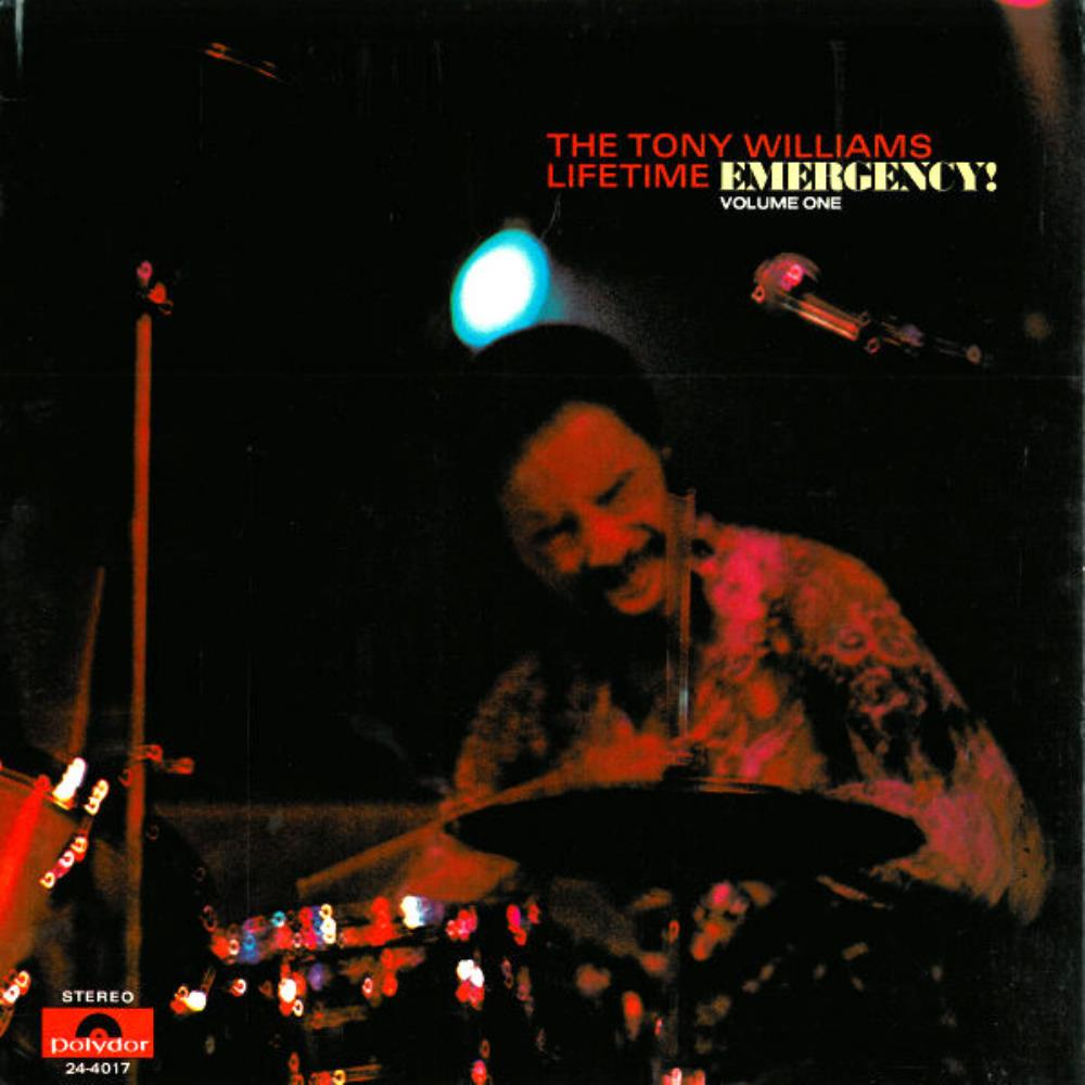 Tony Williams Lifetime - Emergency ! CD (album) cover