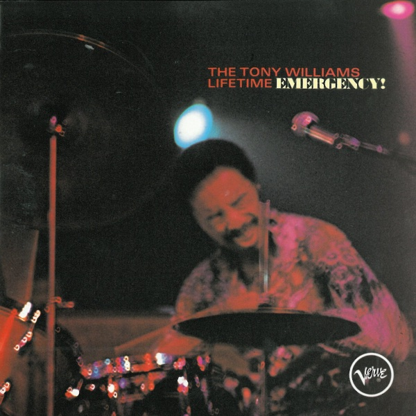 Tony Williams Lifetime - Emergency CD (album) cover
