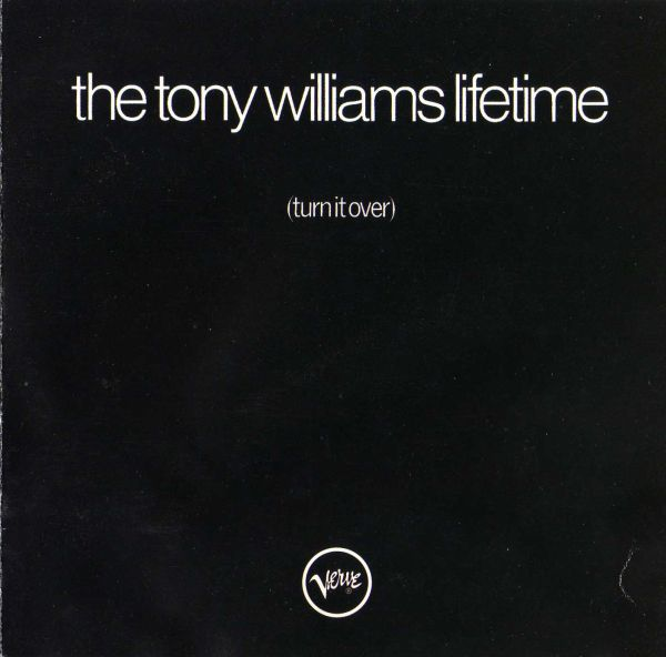 Tony Williams Lifetime - Turn It Over CD (album) cover