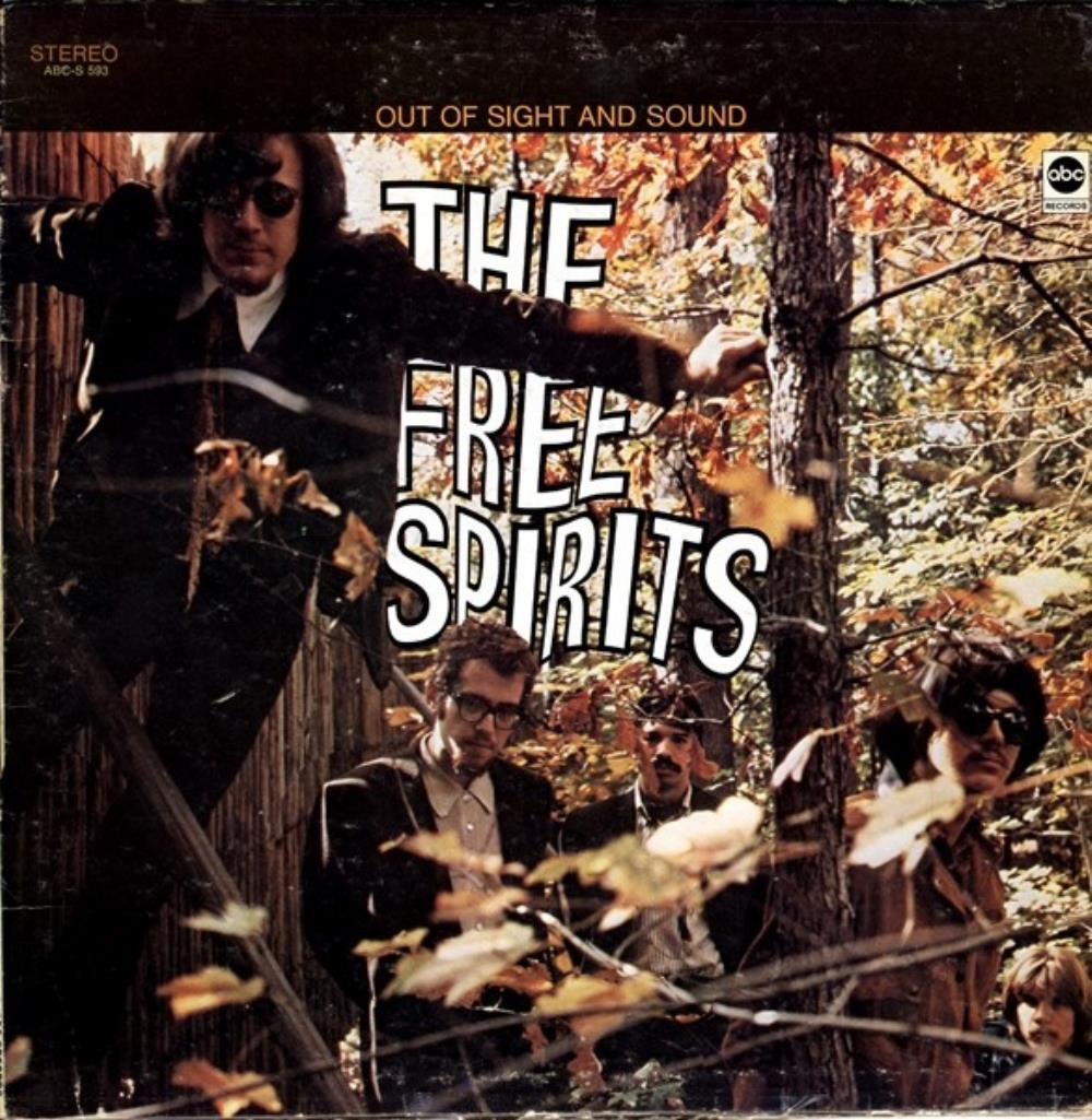 Larry Coryell The Free Spirits - Out Of Sight And Sound album cover