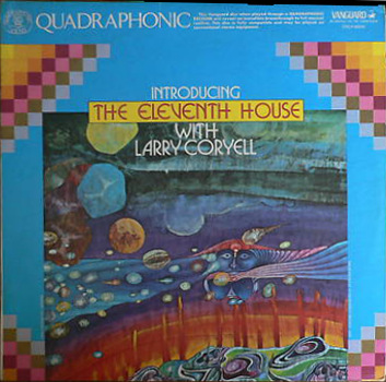 Larry Coryell  Introducing (The Eleventh House With Larry Coryell) album cover