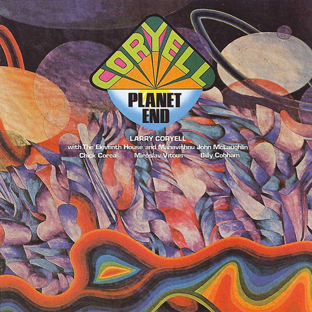 Larry Coryell Planet End album cover