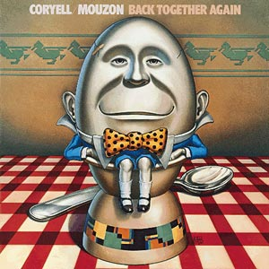 Larry Coryell - Back Together Again (with Alphonse Mouzon) CD (album) cover