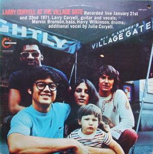 Larry Coryell At The Village Gate album cover