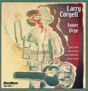 Larry Coryell Inner Urge  album cover