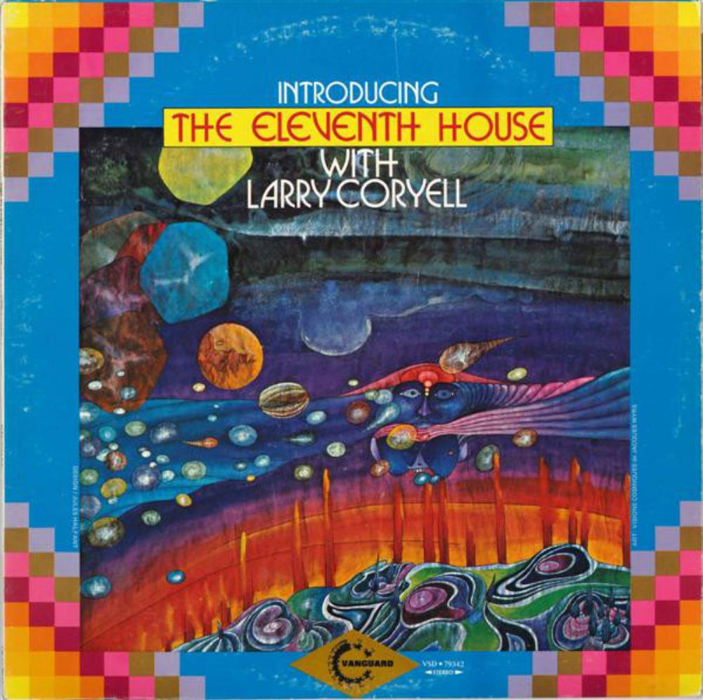 Larry Coryell - The Eleventh House: Introducing The Eleventh House With Larry Coryell CD (album) cover
