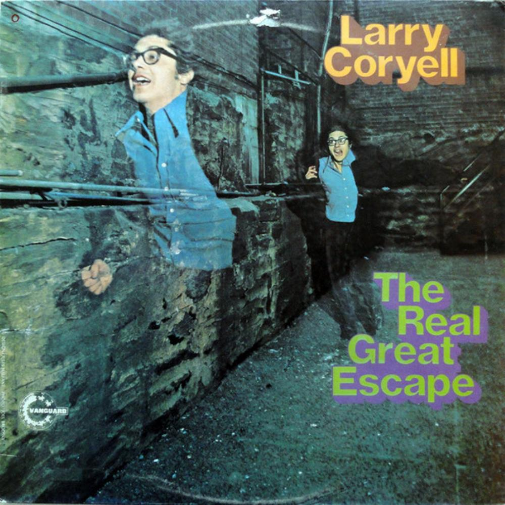 Larry Coryell The Real Great Escape album cover