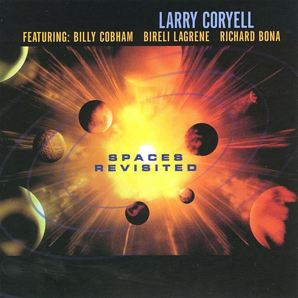 Larry Coryell Spaces Revisited album cover