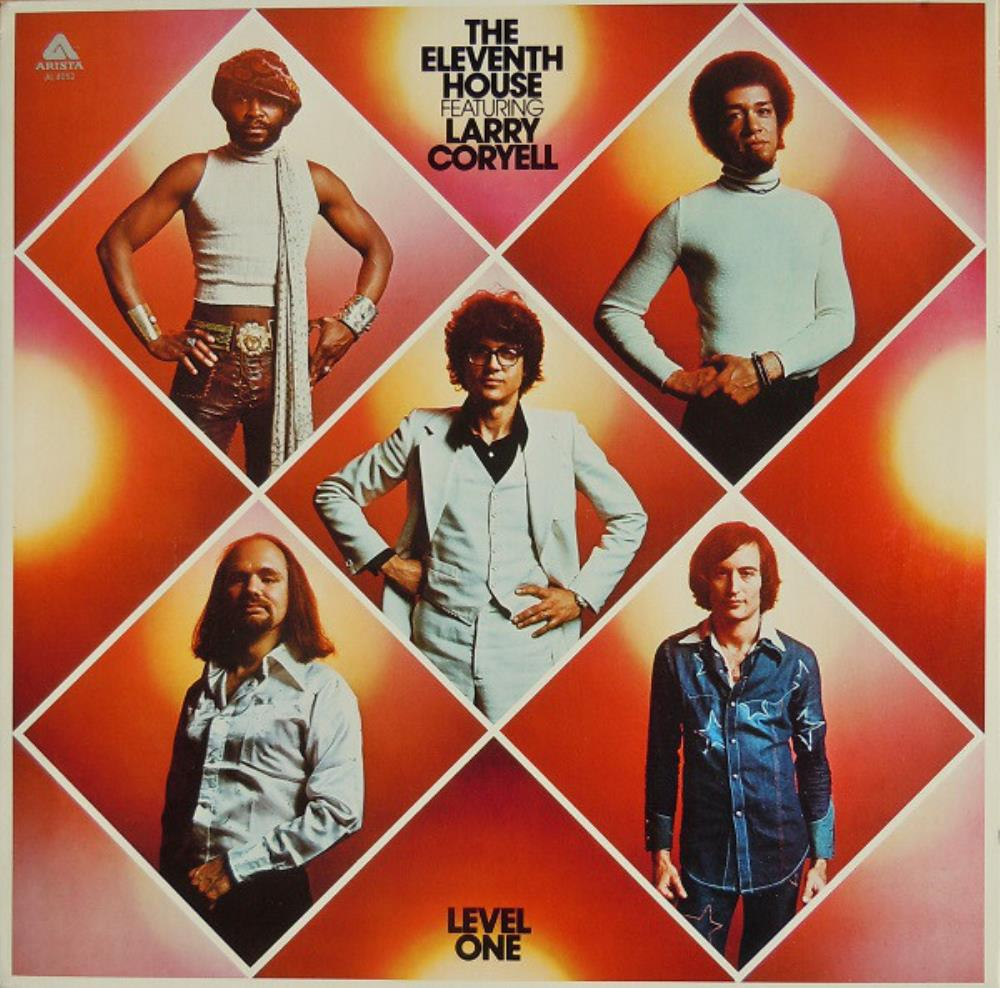 Larry Coryell The Eleventh House: Level One album cover