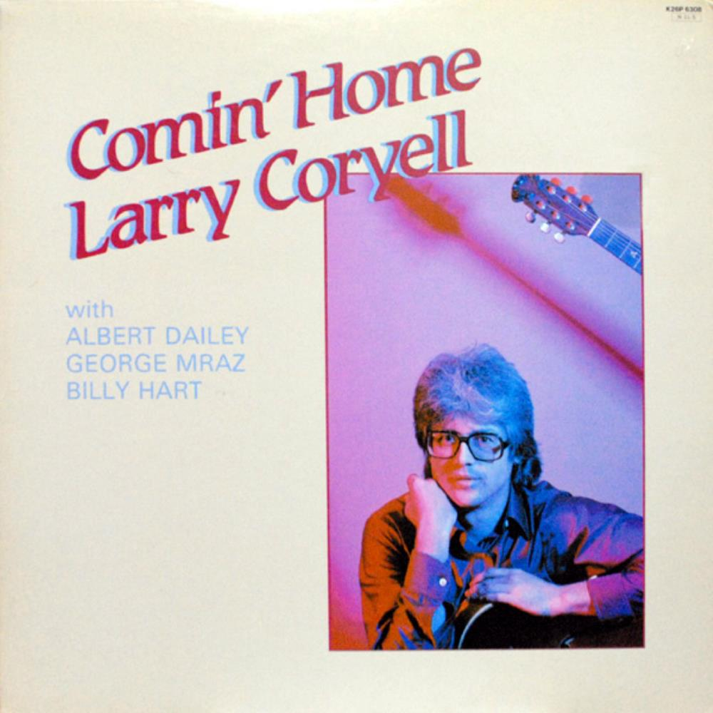 Larry Coryell Comin' Home album cover