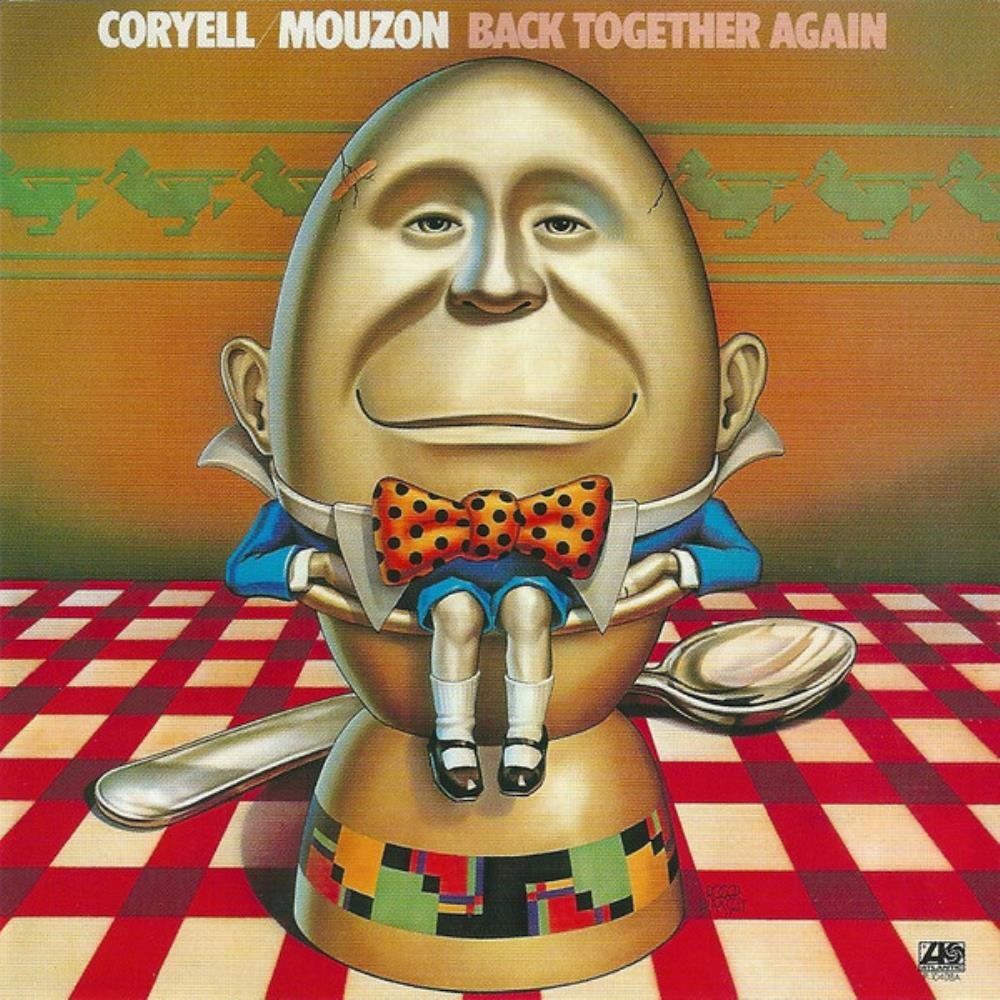 Larry Coryell - Larry Coryell & Alphonse Mouzon: Back Together Again CD (album) cover