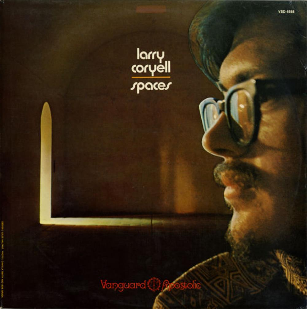 Larry Coryell Spaces album cover