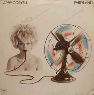 Larry Coryell Fairyland (Montreux Festival, 71) album cover