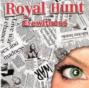 Royal Hunt - Eyewitness CD (album) cover